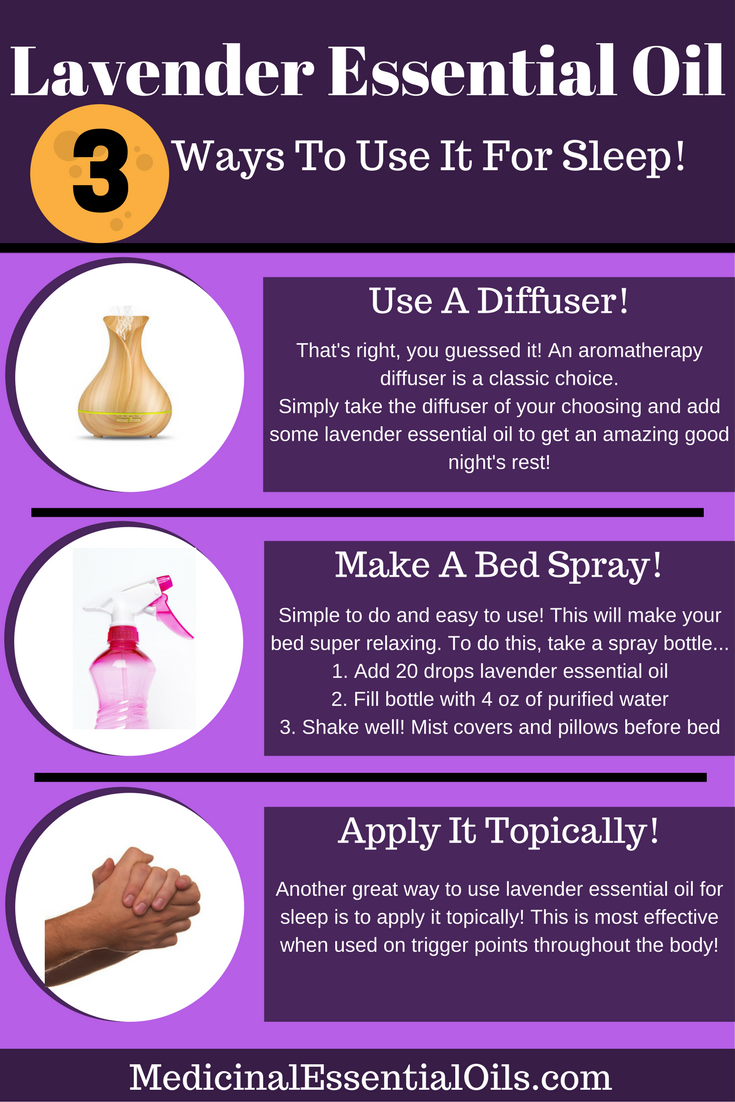 How To Use Lavender Essential Oil For Sleep Medicinal Essential Oils